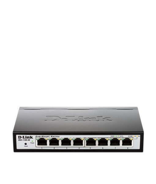 Dgs 1100 08 8 Port Layer 2 Lite Smart Managed Gigabit